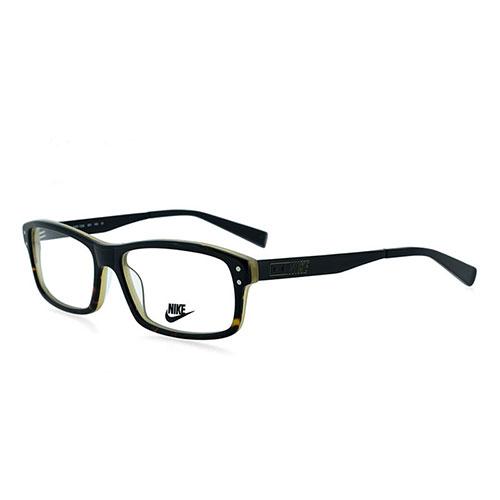 Mens Eyeglass Frames Square : Nike Mens Eyeglasses NK7206-001 Black Tortoise Square Full ...