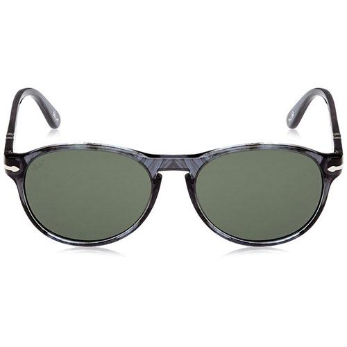 2684692457 Persol Suprema PO2931S 53 103131 Unisex Sunglasses Blue Round Frame Green  Lens