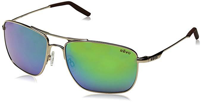 4e2fc52504 Revo Groundspeed RE 3089 02 GN Polarized Aviator Sunglasses
