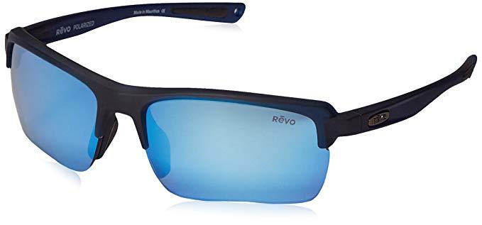 94ff6d521a Revo Crux C RE 1021 05 BL Polarized Wrap Sunglasses