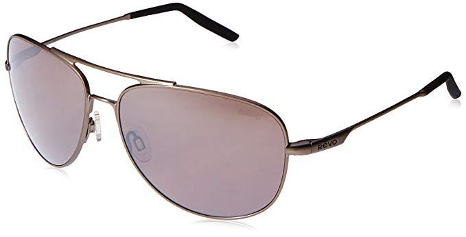 996858d56 Revo RE308700 Windspeed Polarized Aviator Sunglasses Gunmetal/Graphite 61 mm