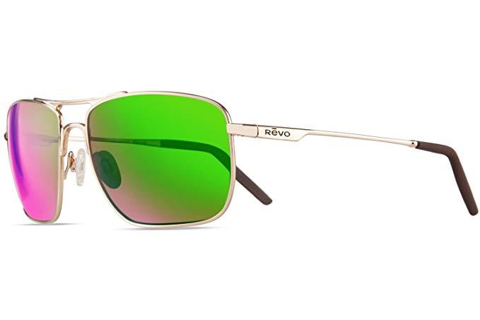 833b33d11a Revo RE 3089GF 02 GN Groundspeed Navigator Polarized Sunglasses Gold Green