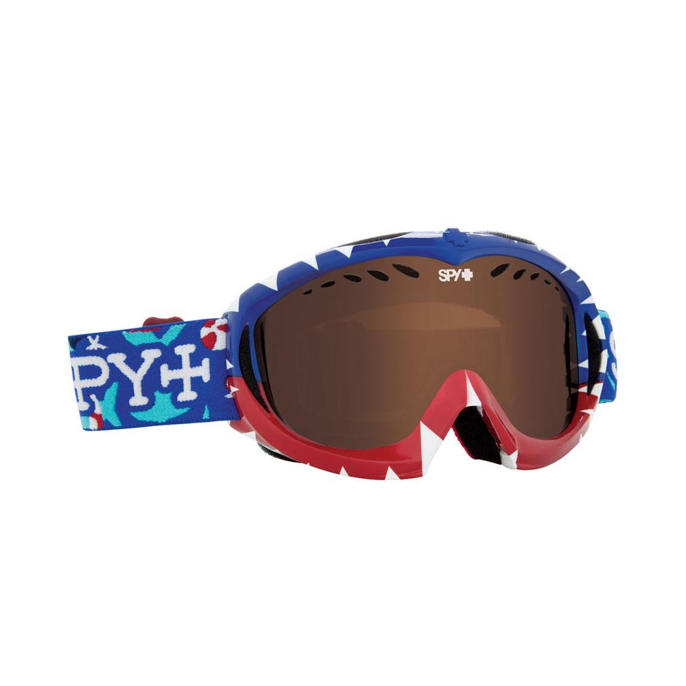 7067c84552c2 Details about Spy Optic 310775654069 Targa Snow Ski Goggles Mini Party  Sharks Bronze