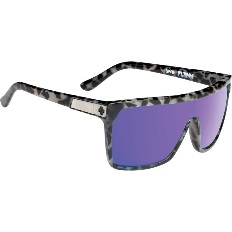 Spy Optic 648478755017 Flynn Sunglasses Spotted Tort ...