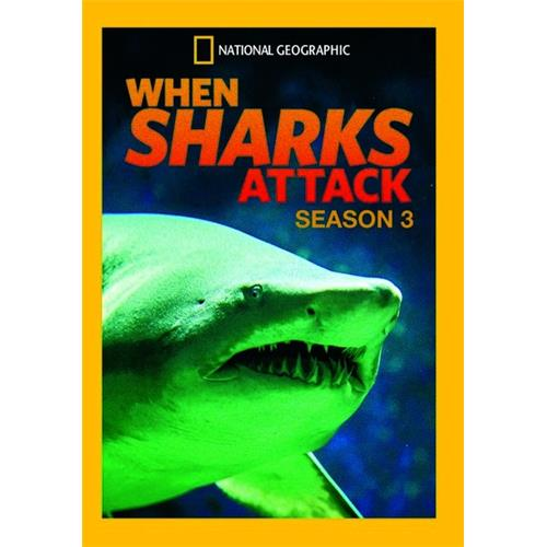 When Sharks Attack Season 3 DVD-9 024543315285