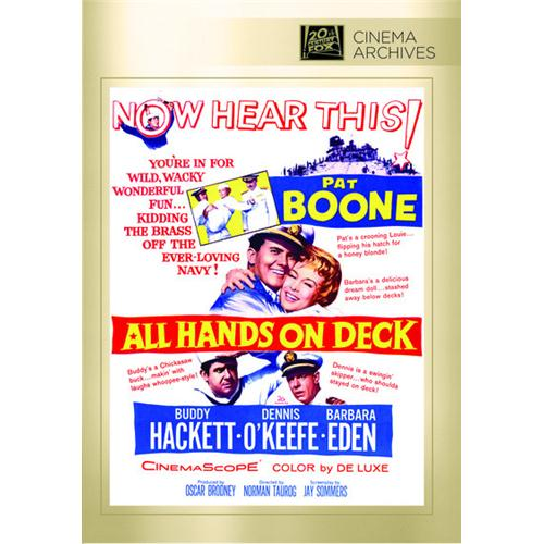 All Hands On Deck DVD Movie 1961 - Comedy Movies and DVDs