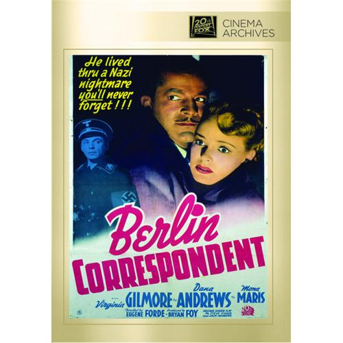 Berlin Correspondent DVD Movie 1942 - Comedy Movies and DVDs