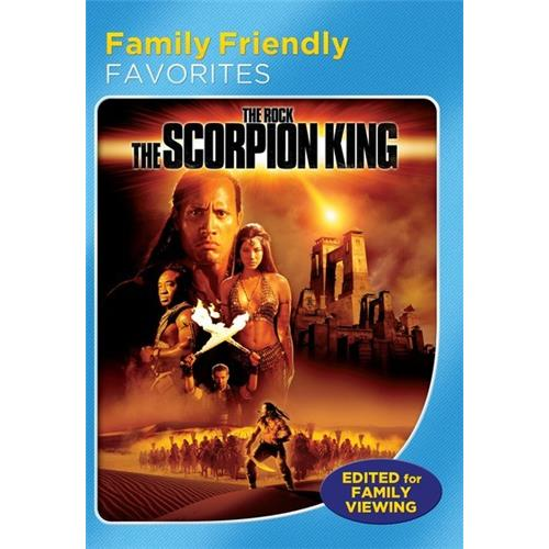 The Scorpion King (Family Friendly Version) DVD-5 025192125195