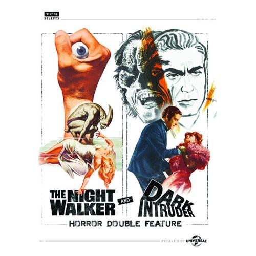 The Night Walker and Dark Intruder: Horror Double Feature DVD-9 025192340475
