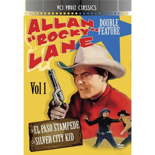Allan Rocky Lane Western Double Feature Vol 1 (El Paso Stam DVD Movie 1953, 1944 - Drama Movies and DVDs