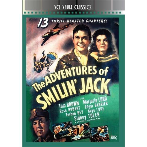 ADVENTURES OF SMILIN' JACK (SERIAL) DVD - Action and Adventure Movies and DVDs