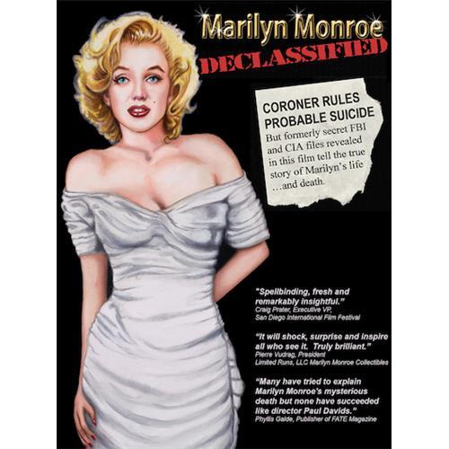 Marilyn Monroe Declassified DVD-9 191091165850