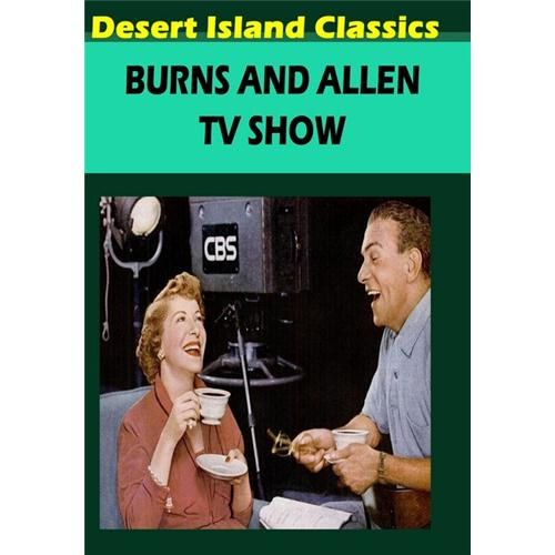 Burns And Allen TV Show DVD Movie 1953 - Comedy Movies and DVDs