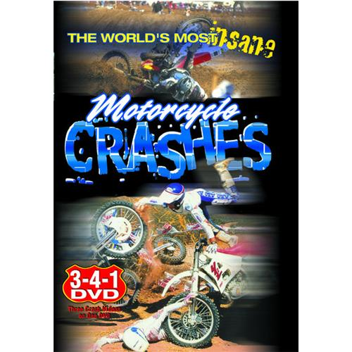 World's Most Insane Motorcycle Crashes DVD-5 711929950658