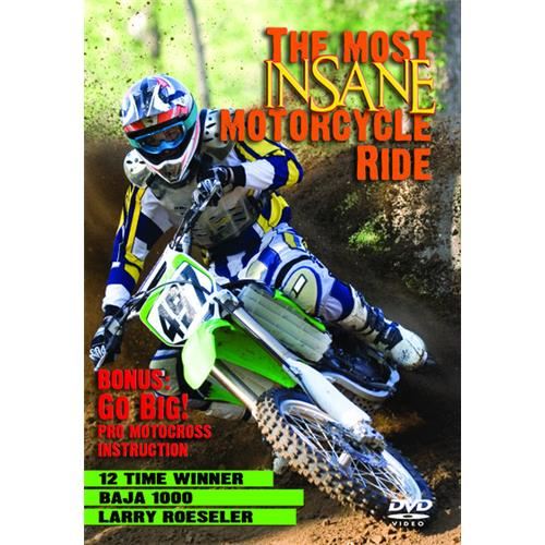 The Most Insane Motorcycle Ride DVD-5 711929950856