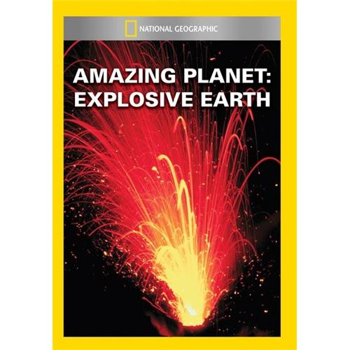 Amazing Planet: Explosive Earth DVD - Documentary Movies and DVDs