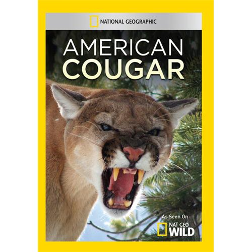 American Cougar DVD Movie - Documentary Movies and DVDs