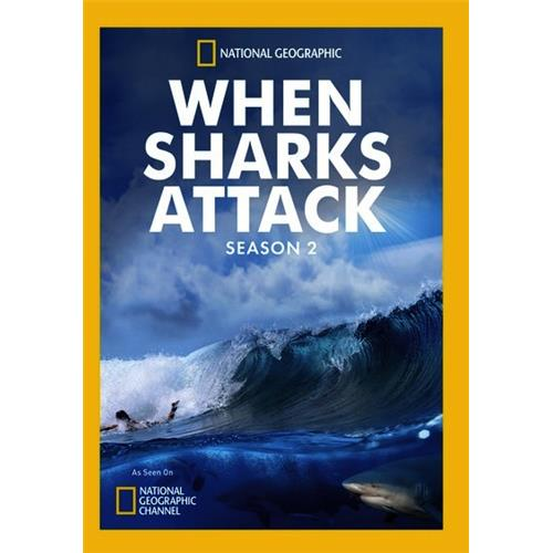 When Sharks Attack Season 2 DVD-5 727994957768