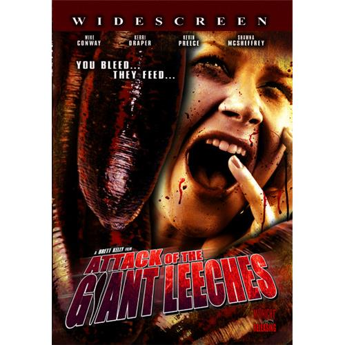 Attack Of The Giant Leeches DVD Movie 2008 - Horror Movies and DVDs