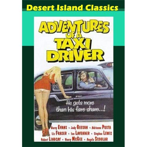 Adventures Of A Taxi Driver DVD Movie 1976 - Comedy Movies and DVDs