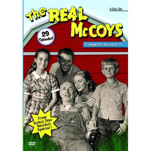 Real McCoys Season 5 DVD-9 815300011133