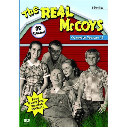 Real McCoys Season 6 DVD-9 815300011140
