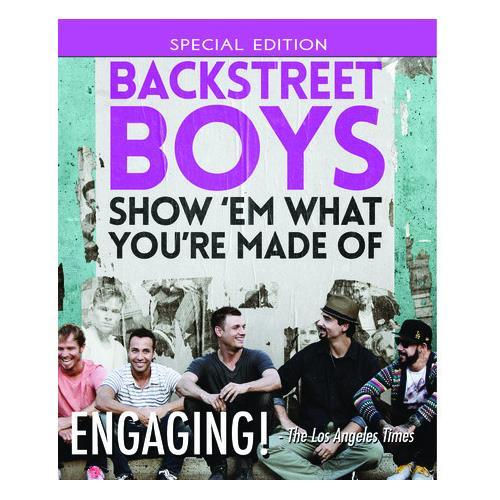 Backstreet Boys: Show 'Em What You're Made Of (BD) BD-25 818522012162