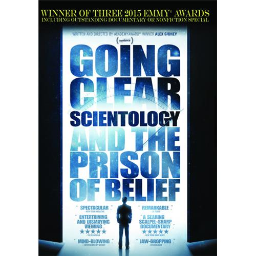 Going Clear: Scientology and the Prison Of Belief - The HBO Special DVD-5 818522012346