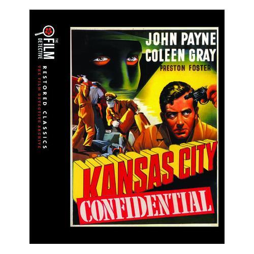 Kansas City Confidential (The Film Detective Restored Version) (BD) BD-25 818522014586
