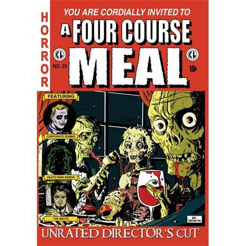 A Four Course Meal DVD Movie 2010 - Horror Movies and DVDs