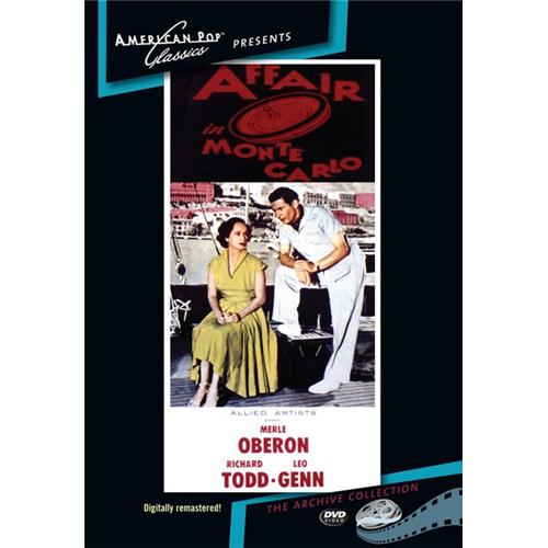 Affair In Monte Carlo DVD Movie 1953 - Drama Movies and DVDs