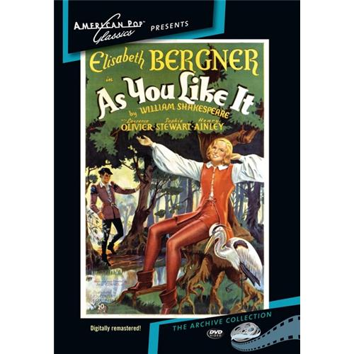 As You Like It DVD Movie 1936 - Drama Movies and DVDs
