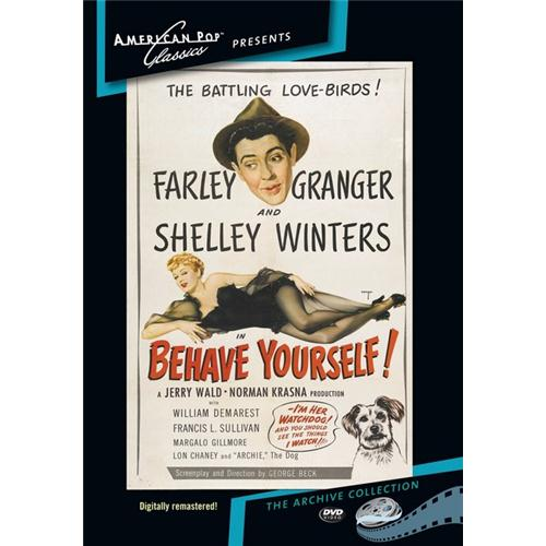Behave Yourself DVD Movie 1951 - Comedy Movies and DVDs