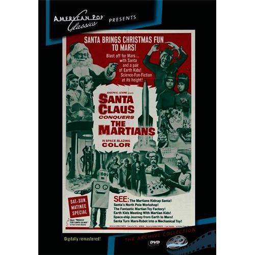 Santa Claus Conquers the Martians DVD-5 874757055398