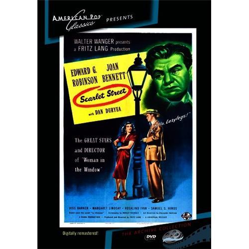 Scarlet Street DVD-5 874757060798
