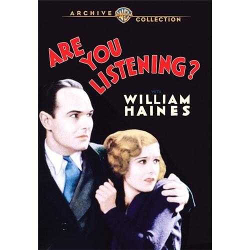 Are You Listening (1932) DVD Movie 1932 - Drama Movies and DVDs