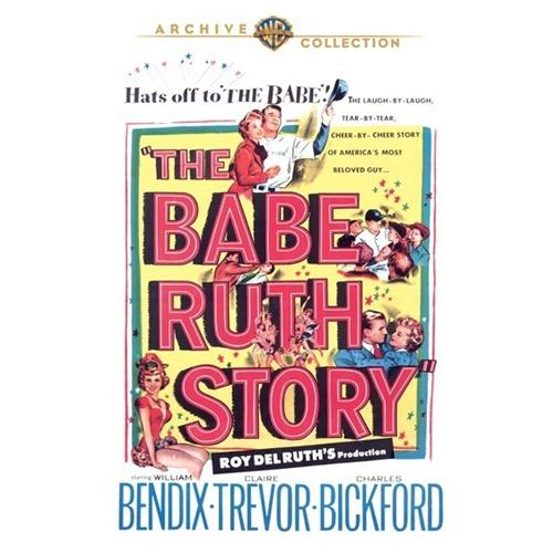 Babe Ruth Story The DVD Movie 1948 - Documentary Movies and DVDs