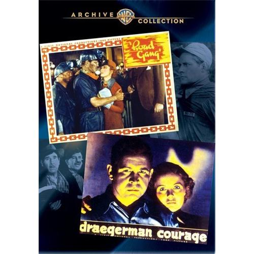 Action Classic Double Feature - Draegerman Courage Road Gangdr DVD Movie 1936-37 - Drama Movies and DVDs