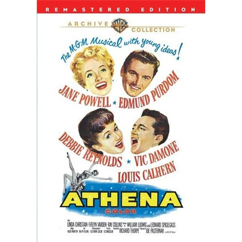 Athena(Dvd9) DVD Movie 1954 - Music Video and Concerts Movies and DVDs