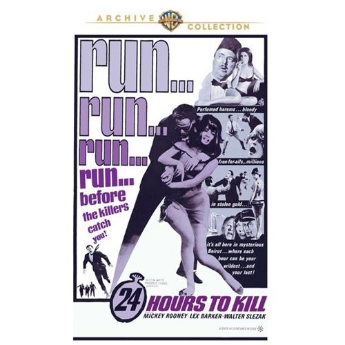 24 Hours To Kill DVD Movie 1965 - Action and Adventure Movies and DVDs
