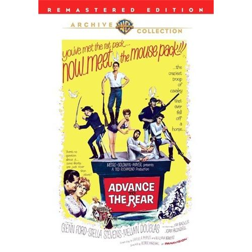 Advance To The Rear DVD Movie 1964 - Comedy Movies and DVDs