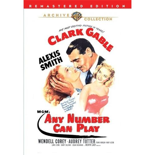 Any Number Can Play DVD Movie 1949 - Drama Movies and DVDs