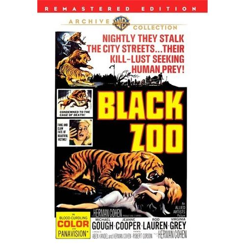 Black Zoo DVD Movie 1963 - Science Fiction Fantasy Movies and DVDs