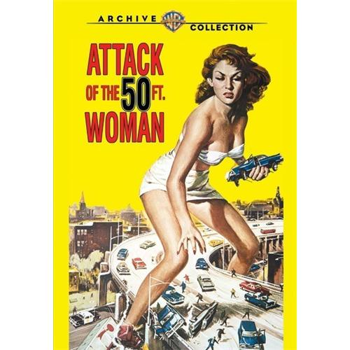 Attack Of The 50ft Woman (1958) DVD Movie 1958 - Science Fiction Fantasy Movies and DVDs