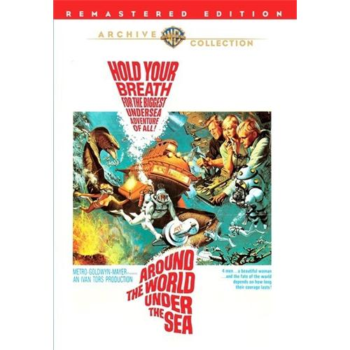 Around The World Under The Sea(Dvd9) DVD Movie 1966 - Science Fiction Fantasy Movies and DVDs