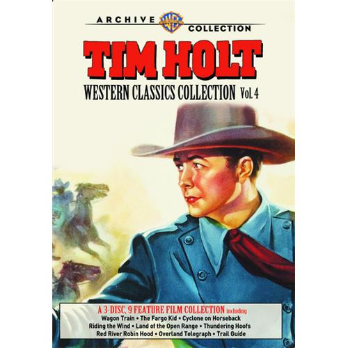 Tim Holt Western Classics Collection: Volume Four DVD-9 883316995921