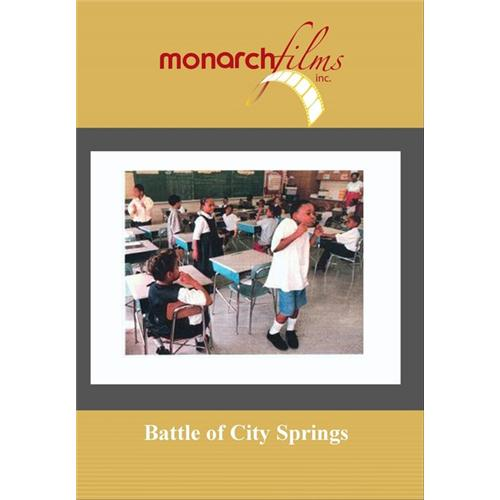 Battle Of City Springs DVD Movie 2002 - Documentary Movies and DVDs