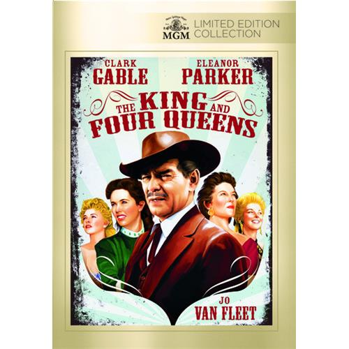 The King And Four Queens DVD-5 883904304173