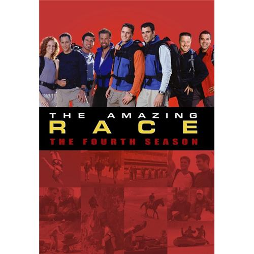 Amazing Race Season 4 DVD Movie 2003 - Drama Movies and DVDs