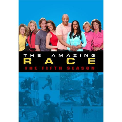 Amazing Race Season 5 DVD Movie 2004 - Drama Movies and DVDs